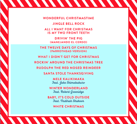 new christmas album - Classic Christmas Songs List