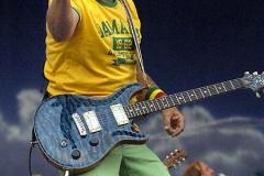 John Heller/Post-GazetteJimmy Buffett performs at PNC Park. shot 6/26/2005