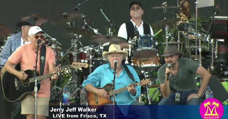 Buffett and Jerry Jeff Walker