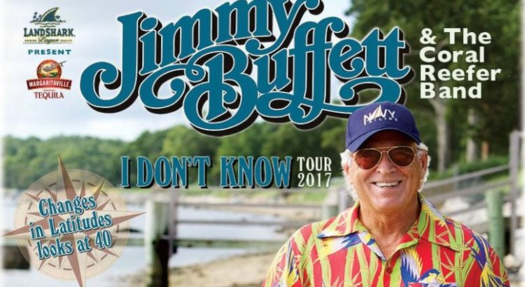 Jimmy Buffett tour 2017