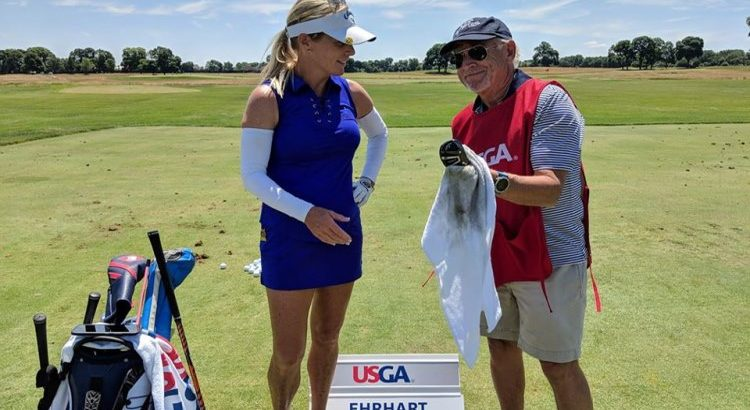 Buffett caddies at U.S. Senior Women's Open – BuffettNews.com