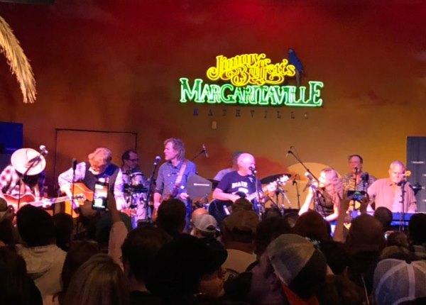 Buffett on SiriusXM & impromptu show at the Margaritaville