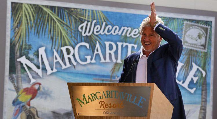 margaritaville orlando hotel grand opening