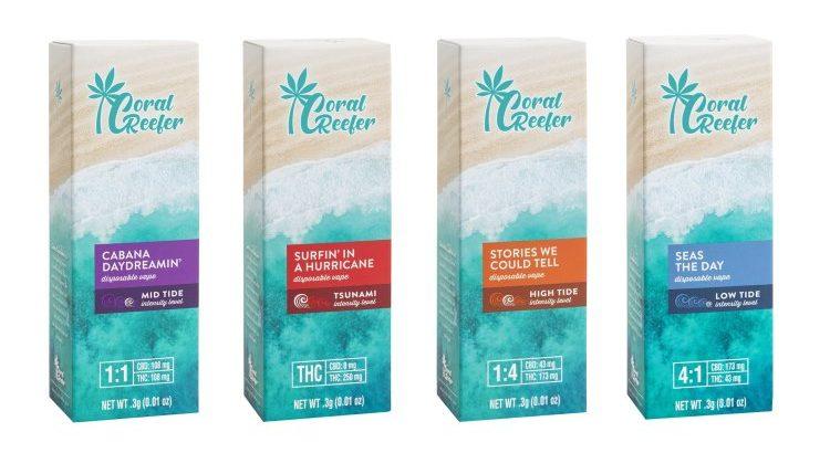 Coral Reefer cannabis brand